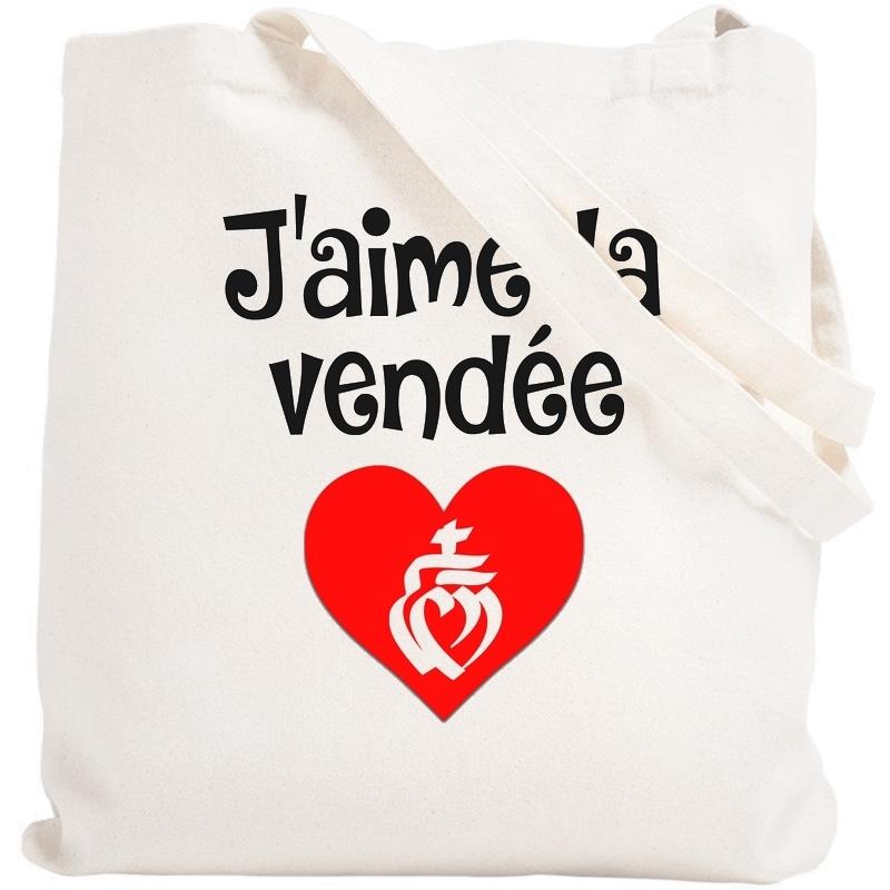 Tote bag Vendée - Sac shopping Vendée - Angora