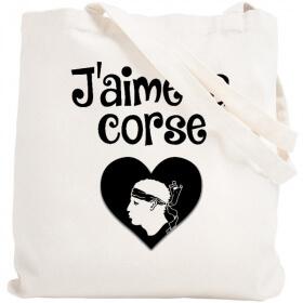 Tote bag Corse - Sac shopping Corse - Angora - Em création