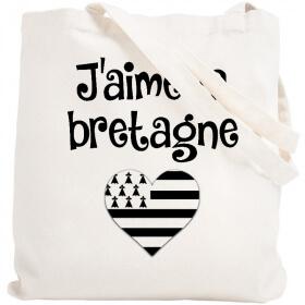 Tote bag Bretagne - Sac shopping Bretagne - Angora - Em création