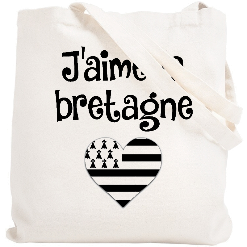 Tote bag Bretagne - Sac shopping Bretagne - Angora