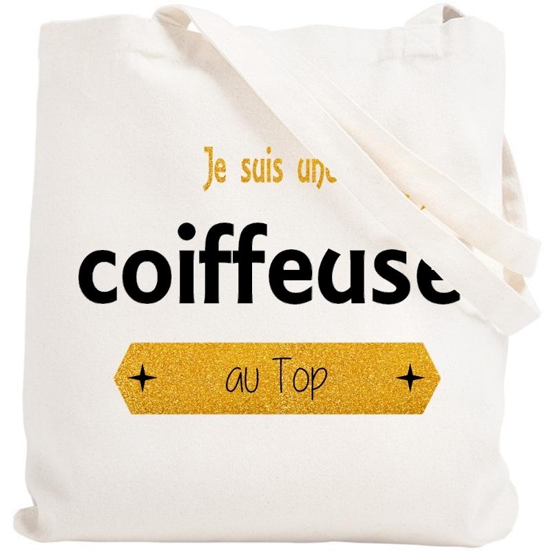 Tote bag Coiffeuse - Sac shopping Coiffeuse - Angora