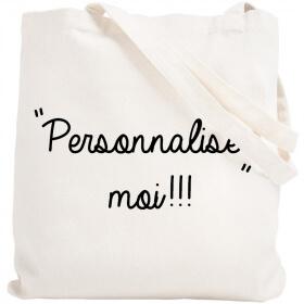 Tote bag personnalisé - Sac personnalisé - Tote bag personnalisable - BLanc - Angora - Em création
