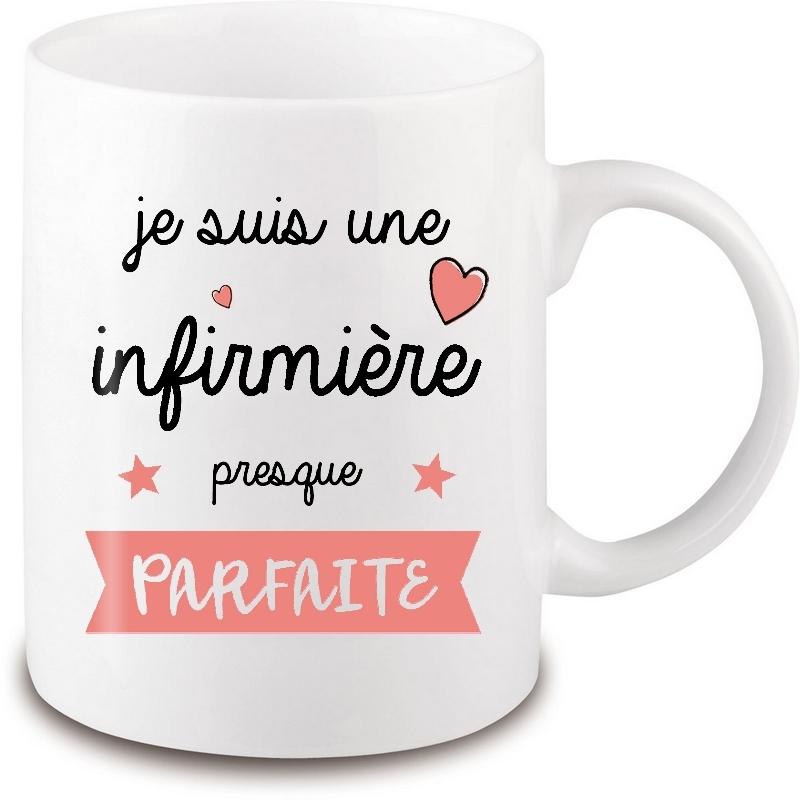 mug infirmière - idée cadeau