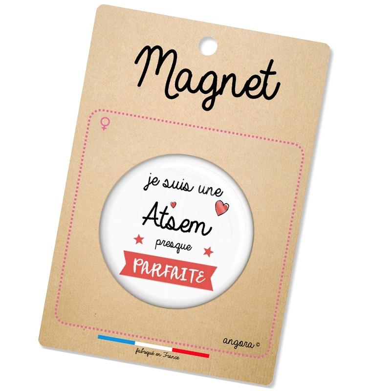 magnet atsem - idée cadeau - angora
