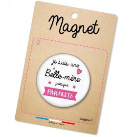 magnet belle-mère - idée cadeau - angora - Em création