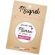 Magnet maman presque parfaite
