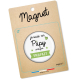 Magnet papy