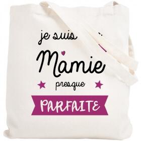 Tote bag Mamie - idée cadeau Mamie - Angora - Em création