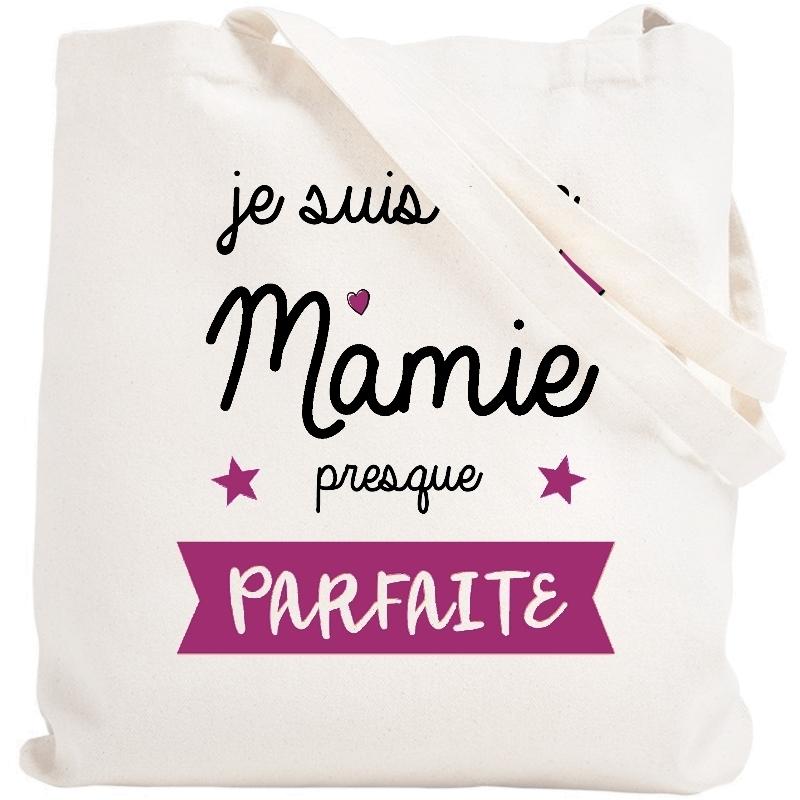 Tote bag Mamie - idée cadeau Mamie - Angora