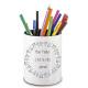 Pot à crayons maître d'école