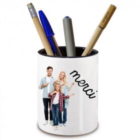 Pot à crayon personnalisé - Cadeau personnalisable - Em création