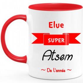 Mug Atsem - Rouge - Angora - Em création