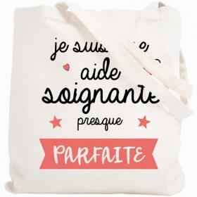 Tote bag Aide-Soignante - Em création