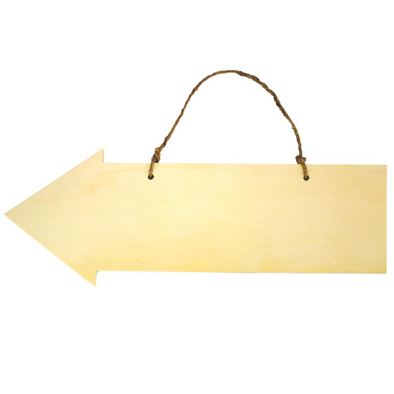 Flèche en bois à décorer
