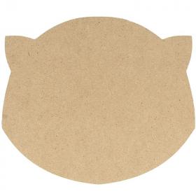 Silhouette tête de chat - Artemio - Support en bois à peindre - Em création