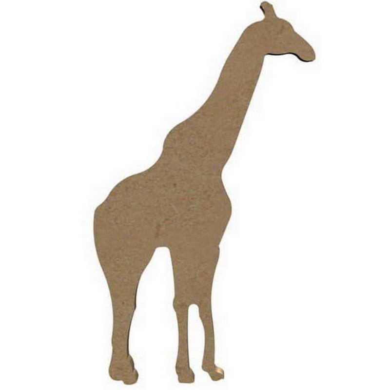 Girafe à décorer - Gomille - Em création