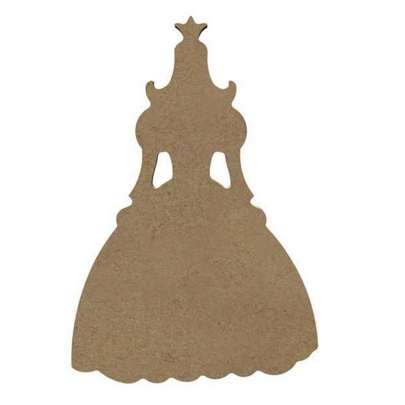 Princesse à décorer - Gomille - Em création