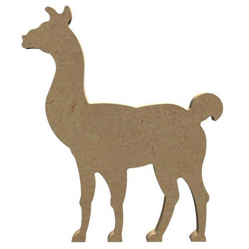 Lama à décorer - Gomille