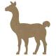 Lama à décorer