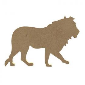 Lion à peindre - Gomille - Em création