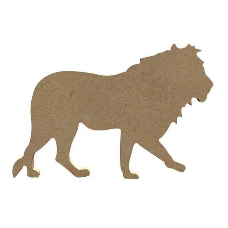 Lion à peindre - Gomille