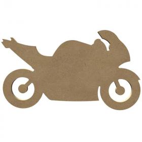Moto à peindre- Gomille - Em création