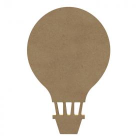 Montgolfière à peindre - Support en bois - Gomille - Em création