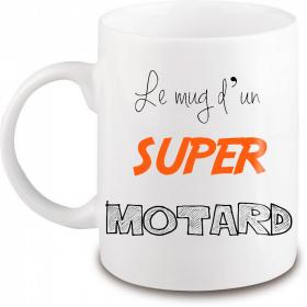 Mug motard - Idée cadeau motard - Em création