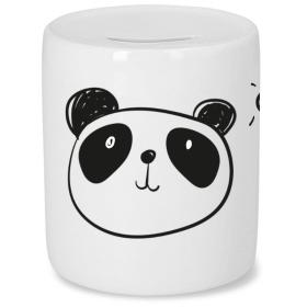 Tirelire Panda - Cadeau enfant - Em création