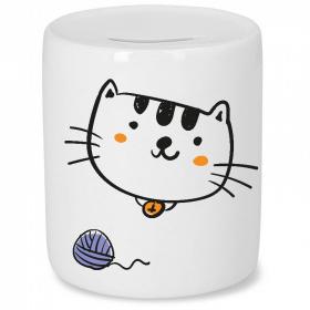 Tirelire chat - Idée cadeau enfant - Em création