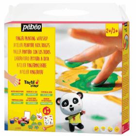 Peinture aux doigts pébéo pour enfant - Em création