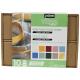 Coffret peinture sur verre pastel 10x45 ml