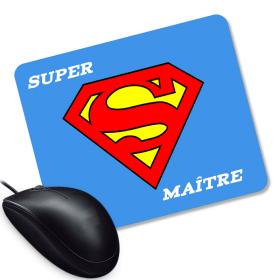 Tapis de souris Super Maitre d'école - Angora - Em création