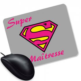 Tapis de souris Super Maitresse d'école - Angora - Em création