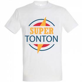 Tee shirt Super Tonton - Idée cadeau tonton - Em création