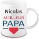 Mug personnalisé papa