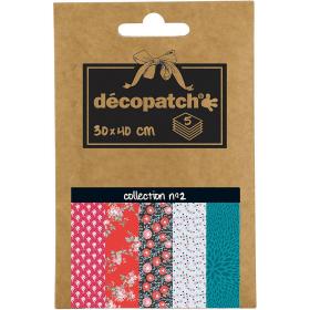 Papier déco Pocket - 2 - Décopatch - Em création