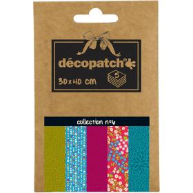 Papier déco Pocket - 6 - Décopatch - Em création - Em création