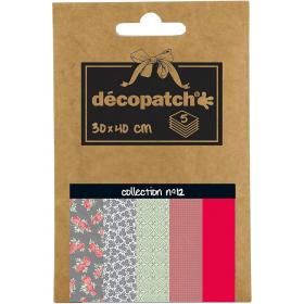 Papier déco Pocket - 12 - décopatch - Em création