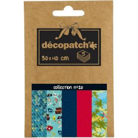 Papier décopatch - 20 - Loisirs créatifs - Em création