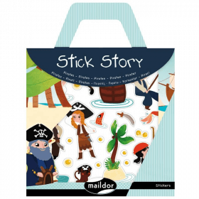 Stick Story - Pirates - Maildor - Gommettes - sticker - Em création