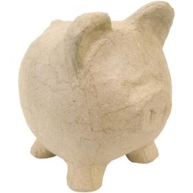Tirelire cochon à décorer - décopatch - Em création