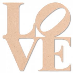 Décoration à peindre Love - Em création