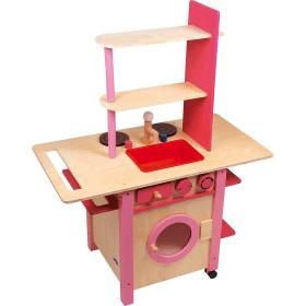 Cuisine en bois pour enfant - Jeu d'imitation en bois - Em création