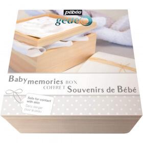 pébéo baby memories blanc - Empreinte bébé - Em création