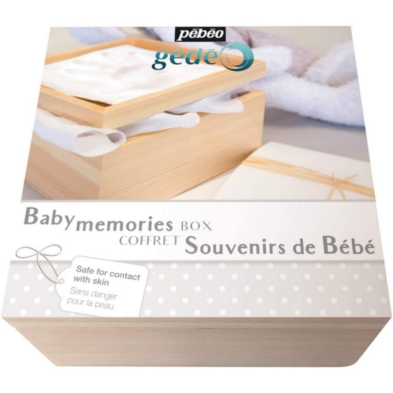 pébéo baby memories blanc - Empreinte bébé