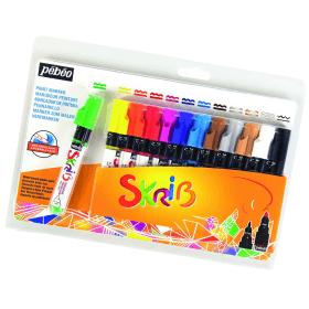 Paint marqueur Gouache x12 - Peinture - Em création