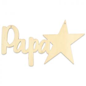 Suspension Papa à décorer - Em création