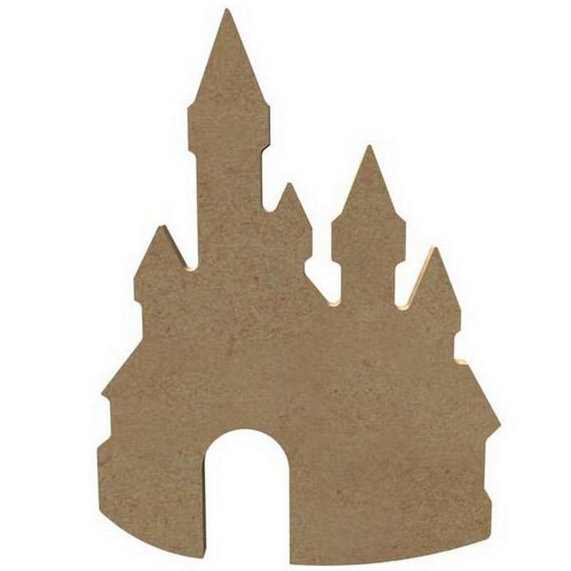 Château de princesse à décorer - MDF - Gomille