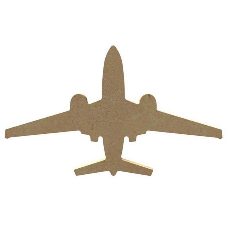 Avion à customiser - 11 x 18cm - Gomille